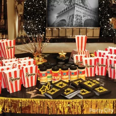 New Years Eve Wallpaper Iphone 6 Movie Theater Popcorn Bar Decorating Idea Red Carpet