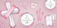 Girl's Blessed First Communion Party Supplies - Religious ...