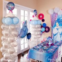 Cinderella Balloon Tower DIY - Decorating Ideas ...