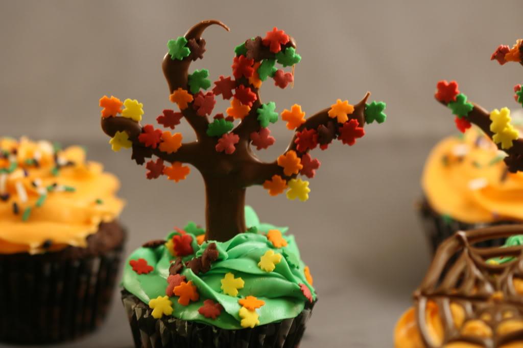 Easy Fall Cake Decorating Ideas Fall Cupcake Decoration Ideas