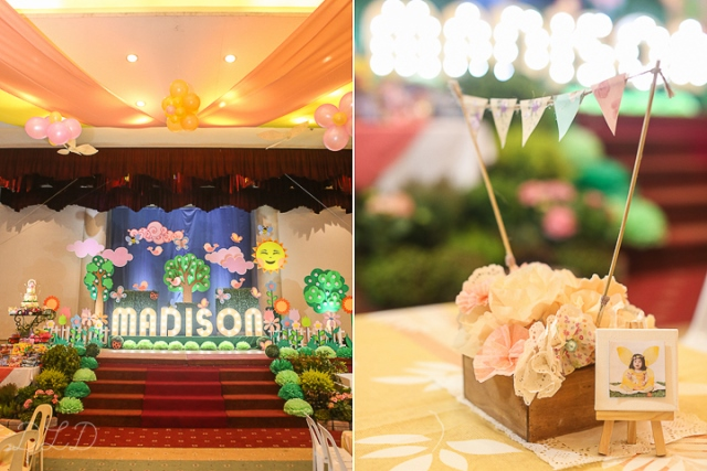 Madison's Garden Themed Party – 1st Birthday