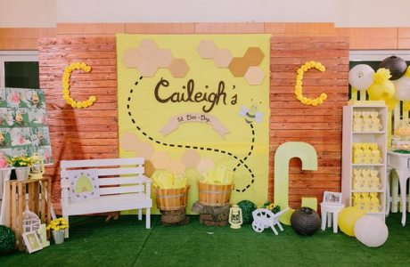 "Caileigh's ""As sweet as it can Bee"" Themed Party – 1st Birthday"