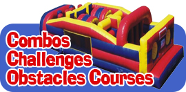 Combos, Challenges, Obstacle Course & Slip-n-Slides