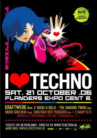 bezoekers · I Love Techno 2006 · 21 oktober 2006, Flanders Expo, Gent · evenement