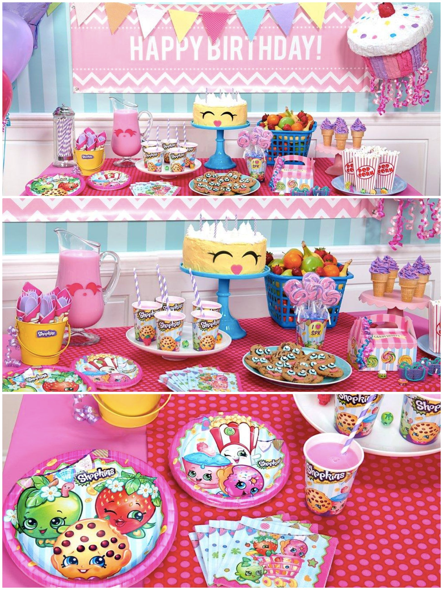 Birthday Supplies Shopkins Birthday Party Planning Ideas And Supplies Theme