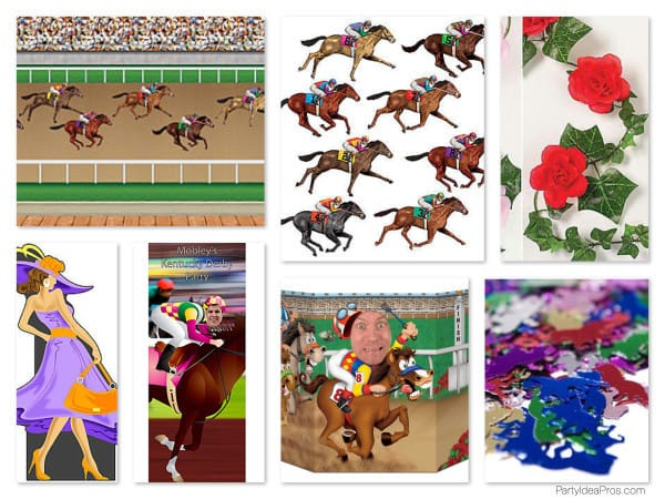 Horse Racing Theme Party Planning, Ideas  Supplies Kentucky Derby