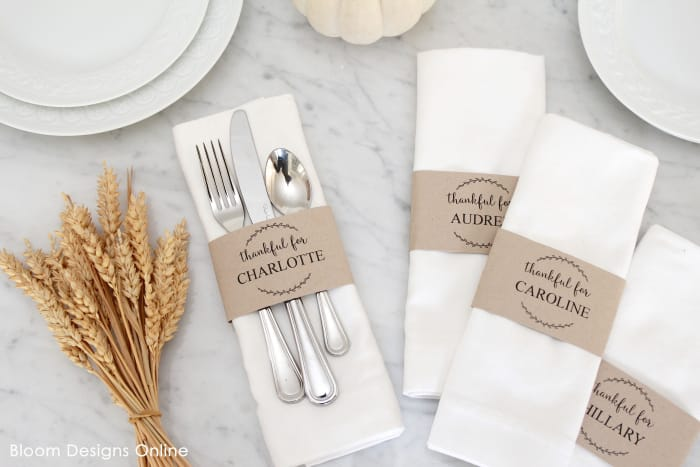 Free Printable Thanksgiving Menu and Place Cards Printable Games