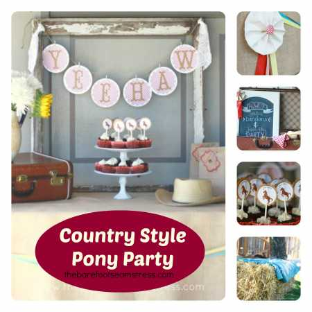 girls-country-pony-horse-party