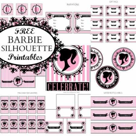 BarbieSilhouetteSet
