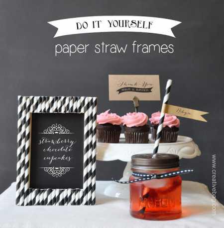 straw frame