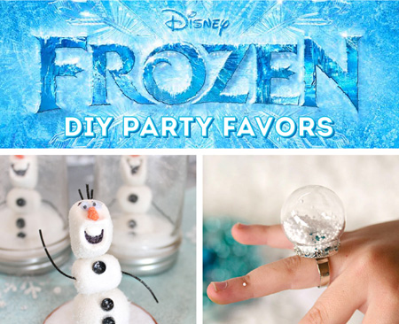 Disney Frozen Party Favor Ideas