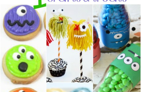 monster-crafts-treats-ideas