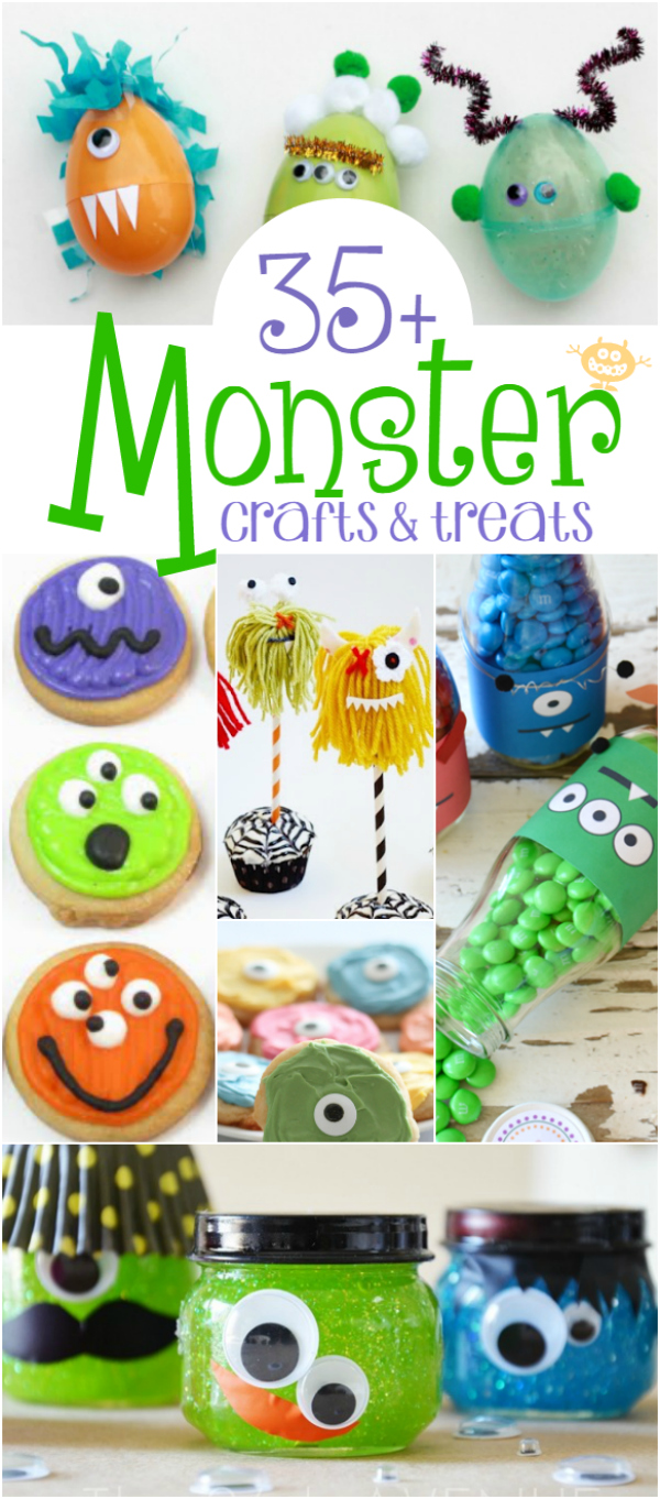 monster-crafts-treats-ideas