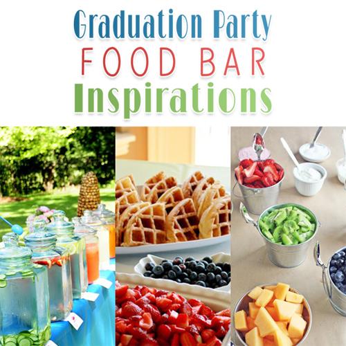 Creative graduation party dinner ideas party ideas for Food bar food