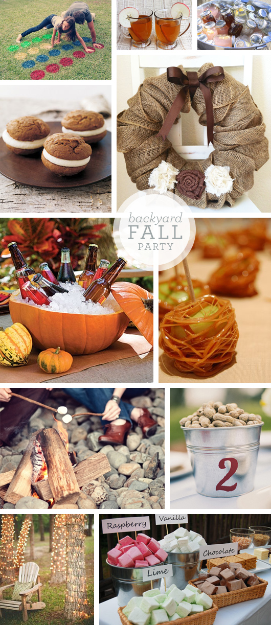 Fall Backyard Ideas : You?ll Love These Amazing Backyard Fall Party Ideas ? Party Ideas