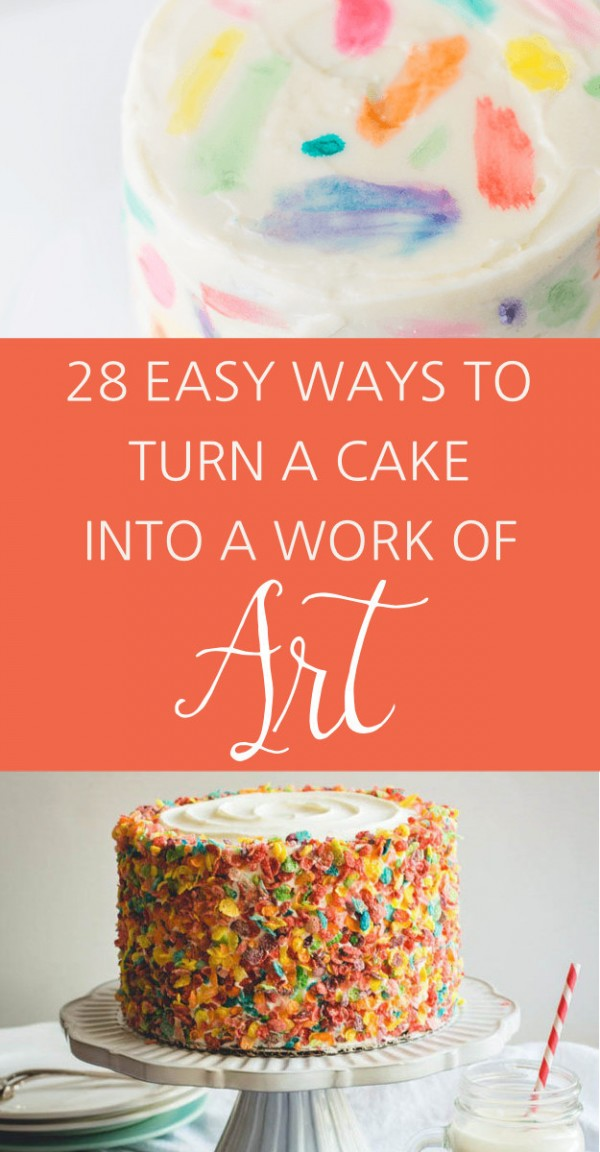 Turn an Ordinary Cake into a Work of Art – Party Ideas ~ 211702_Quick Cake Decoration Ideas