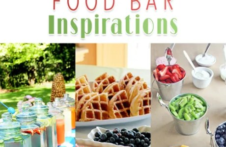 Graduation Party Food Bar Inspirations