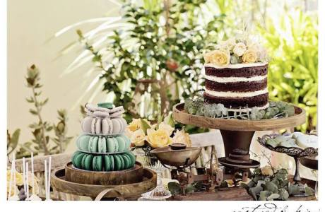 Rustic Outdoor Bridal Shower