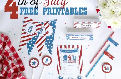 Fourth of July Free Party Printables