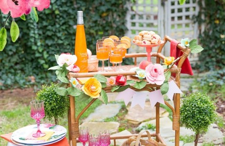 DIY Drinks Cart Party