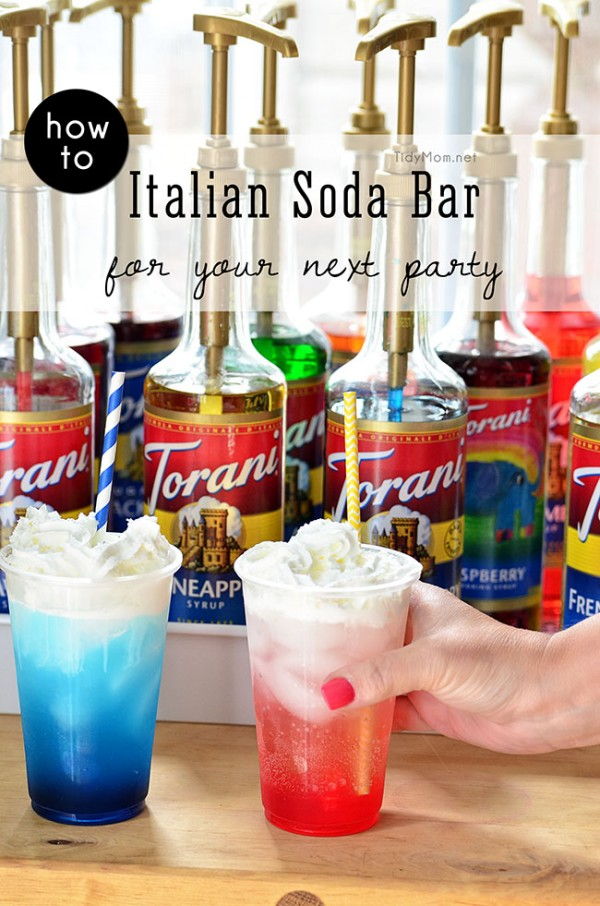 Italian-Soda-Bar-Party