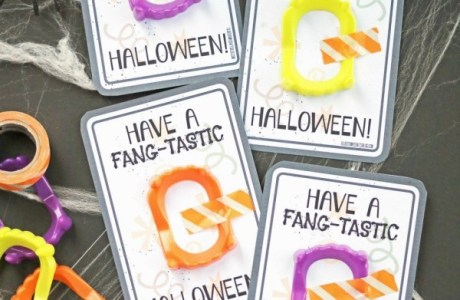 Quick Halloween Party Favors