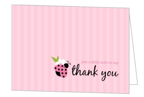 First Birthday Thank You Card Wording Ideas, Etiquette for TY Notes