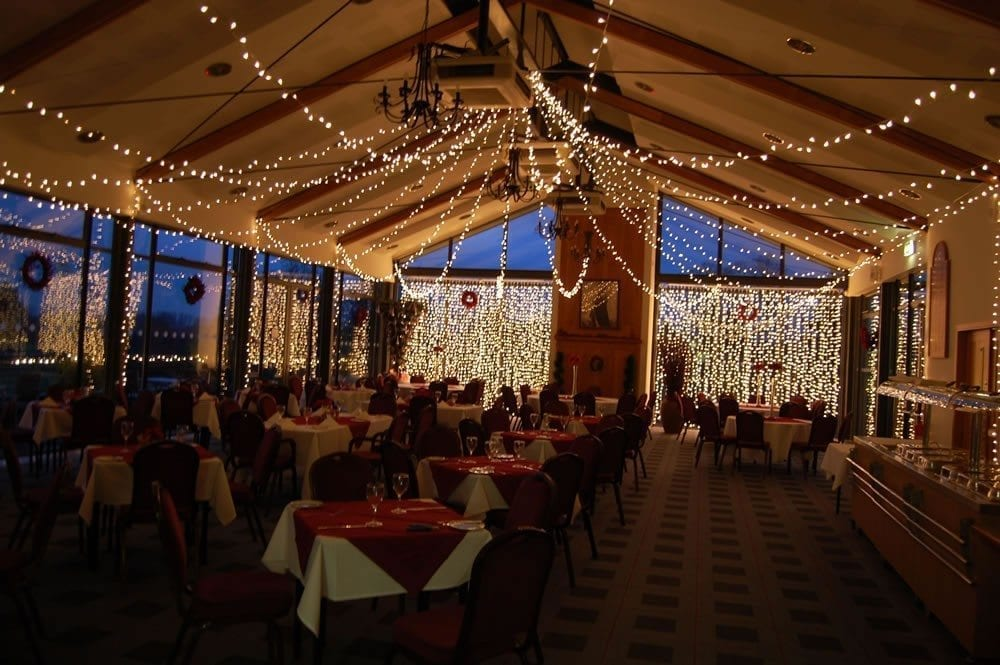 Curtains For Large Windows Fairy Light Curtain - Lighting Hire By Party Lights