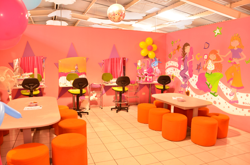 Spa Y Salon De Belleza Party Planet | Instalaciones