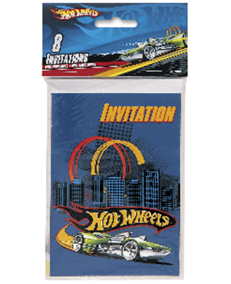 Hot Wheels Unique Party Invitations Party Quackers