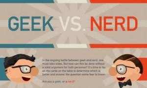 Geeks versus Nerds