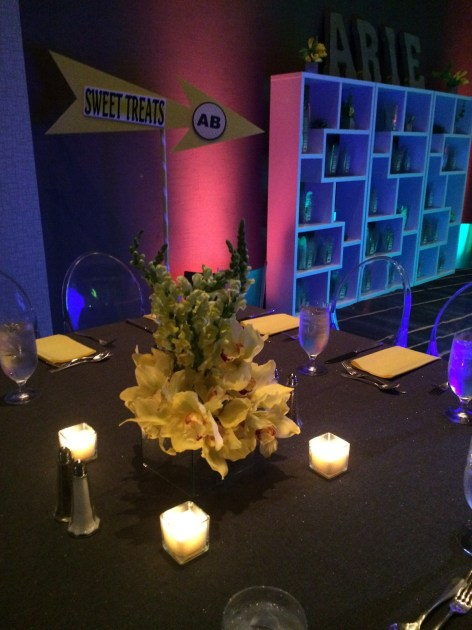 Magic Moments Parties And Events Yellow And Mirrored
