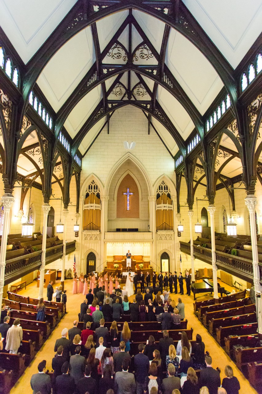 50 100 Mount Vernon Place United Methodist Church Wedding Venue