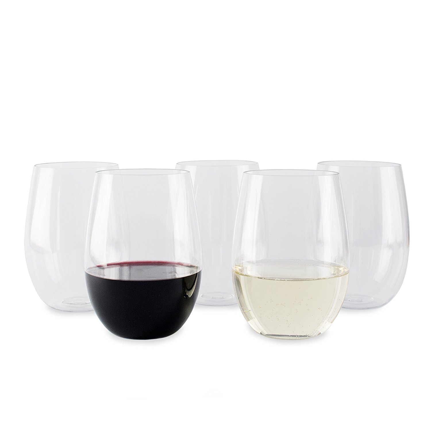 Cheap Wine Glasses Stemless Wine Glasses Bulk Excellent Disposable Wine