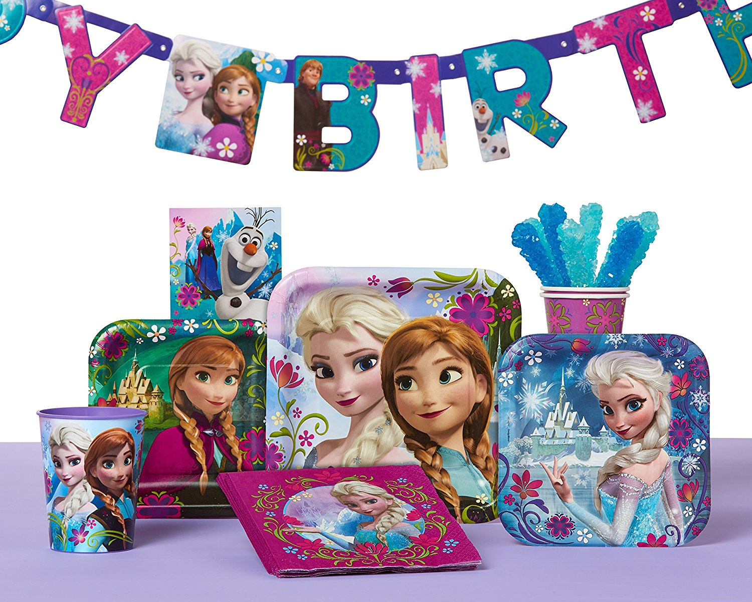 Birthday Supplies Frozen Birthday Party Banner Party Supplies Party