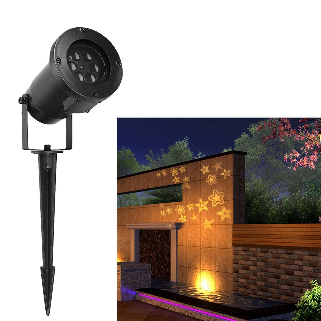 Wall Lights Decoration Excelvan Led Landscape Projector Light Decoration Light