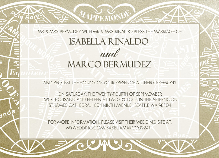 Vintage Wedding Invitation Wording Theme Ideas Retro