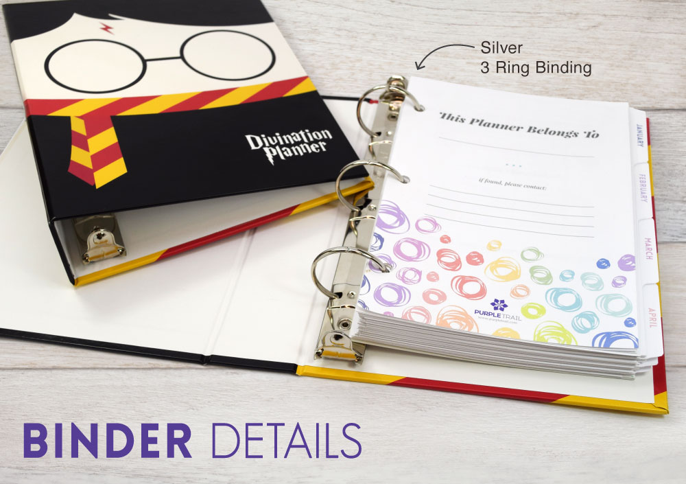 Introducing a 3-Ring Planner Binder PurpleTrail Planners