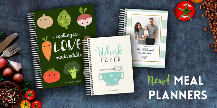New Meal Planner, Tips  More PurpleTrail Planners
