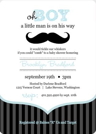 Baby Shower Invitation Wording - It\u0027s A Boy! PurpleTrail - invitation wording for baby shower