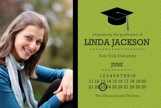 Graduation Announcement Wording Ideas PurpleTrail