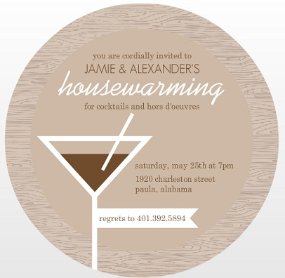 Stylish Housewarming Party Invitations PurpleTrail