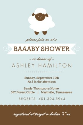 Baby Shower Invitation Wording Ideas From PurpleTrail - invitation wording for baby shower