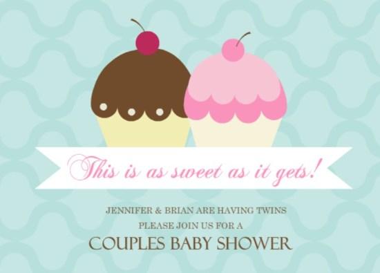 Twins Baby Shower Invitation Wording Ideas From PurpleTrail - invitation wording for baby shower