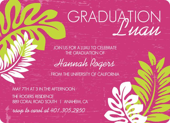 Outdoor Graduation Party Ideas BBQ, Picnic, Luau, Invitaitons - senior party invitations