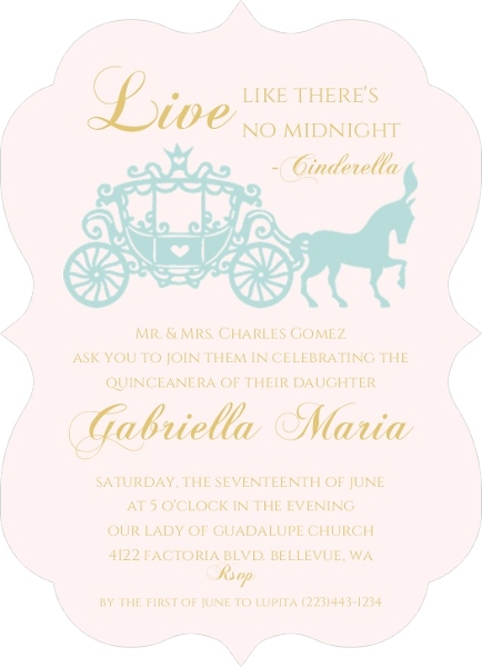 Quinceanera Invitation Wording Ideas  Inspiration From PurpleTrail