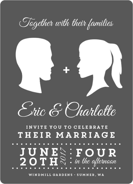 Postcard Wedding Invitations  Wording Vintage, Beach, Rustic, Vegas - post card invitations