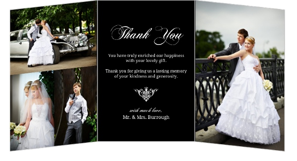 Wedding Thank You Card Wording, Samples, Sayings, Etiquette Ideas