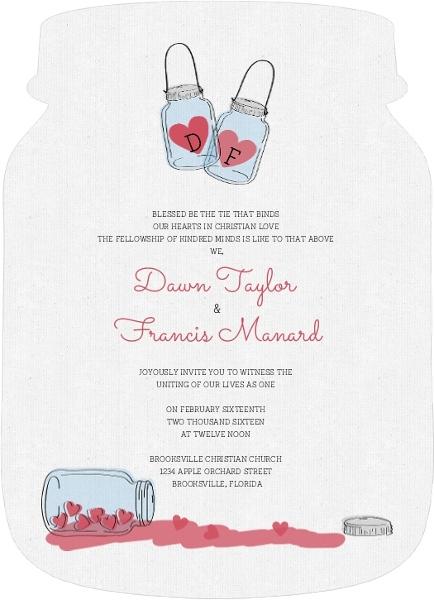 How To Word Wedding Invitations, Invitation Wording Ideas, Etiquette