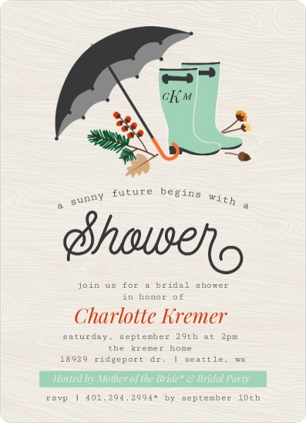 Fall Bridal Shower Ideas Themes, Invitations, Wording, Favors, Decor